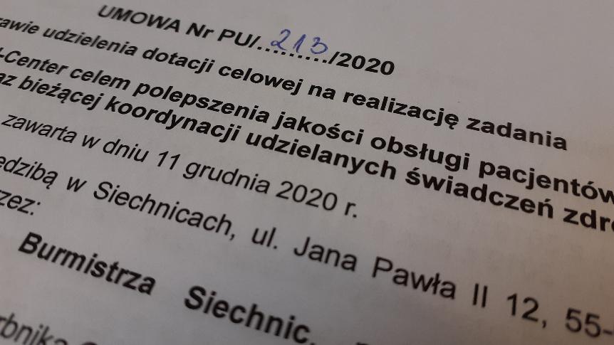 """Gmina sfinansuje utworzenie """"Call-center"""" w ZOZ"""