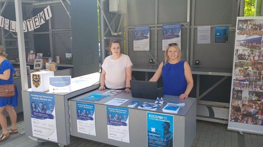 Akcja informacyjna w Siechnicach dotycząca Spisu Powszechnego 2021