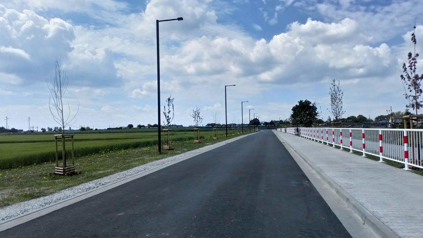 Przebudowa ul. Łąkowej w Św. Katarzynie i Św. Krzyża w Siechnicach