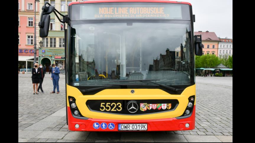 Nowe linie łączące gminę Siechnice z Wrocławiem