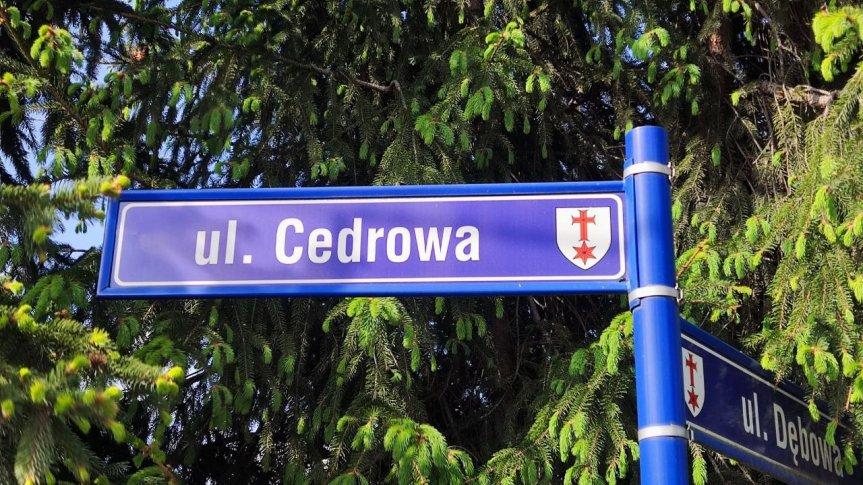 ul. Cedrowa, Radwanice